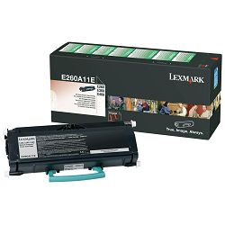 LEXMARK E260 E260A11E BLACK ORGINALNI TONER
