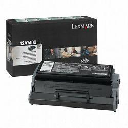 LEXMARK E321 12A7400 BLACK ORGINALNI TONER