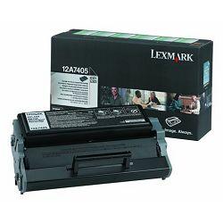 LEXMARK E321 XL 12A7405 BLACK ORGINALNI TONER