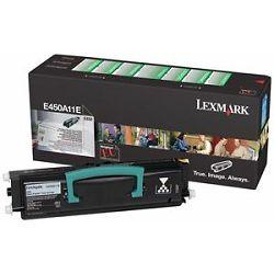 LEXMARK E450 E450A11E BLACK ORGINALNI TONER