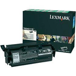 LEXMARK T654 T654X11E BLACK ORGINALNI TONER