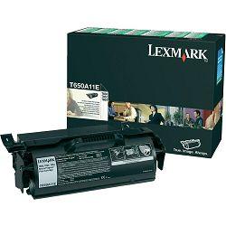 LEXMARK T65x T650A11E BLACK ORGINALNI TONER