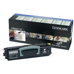 LEXMARK X203 X203A11G BLACK ORGINALNI TONER