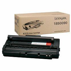LEXMARK X215  BLACK ORGINALNI TONER