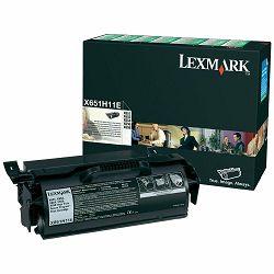 LEXMARK X65xXL X651H11E BLACK ORGINALNI TONER