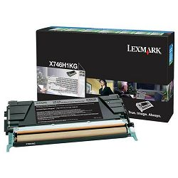 LEXMARK X746 X746H1KG BLACK ORGINALNI TONER