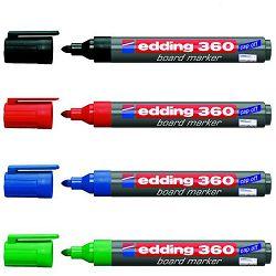 Marker Edding 360 za bijelu ploču crni-okrugli vrh