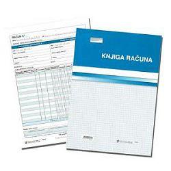 Obrazac Knjiga računa za fiskalizaciju V-409