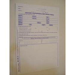 Obrazac kupoprodajni ugovor za motorna vozila VI-37/NCR