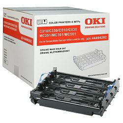 Oki C3x1/5x1, MC3x2/5x2 set Black Originali image drum