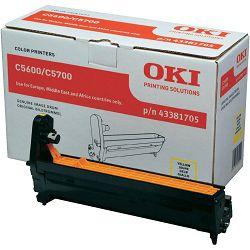 Oki C5600/C5700 Yellow Originalni image drum