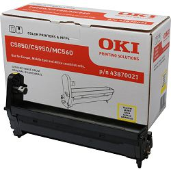 Oki C5850/C5950 Yellow Originalni image drum