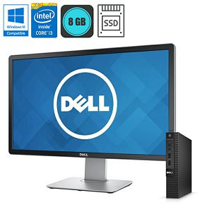 Dell Optiplex 3020M Micro + 23'' FHD P2314h