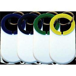 Privjesak  kružni  209987 zeleno/bijeli