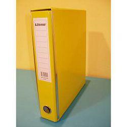 Registrator A4 U Libro žuti plastificirani