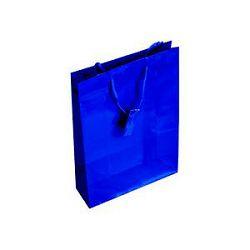 Vrećica glossy L plava