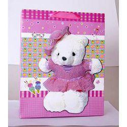 Vrećica medvjedići pink 403408