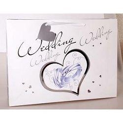 Vrećica vjenčanje srce 403059