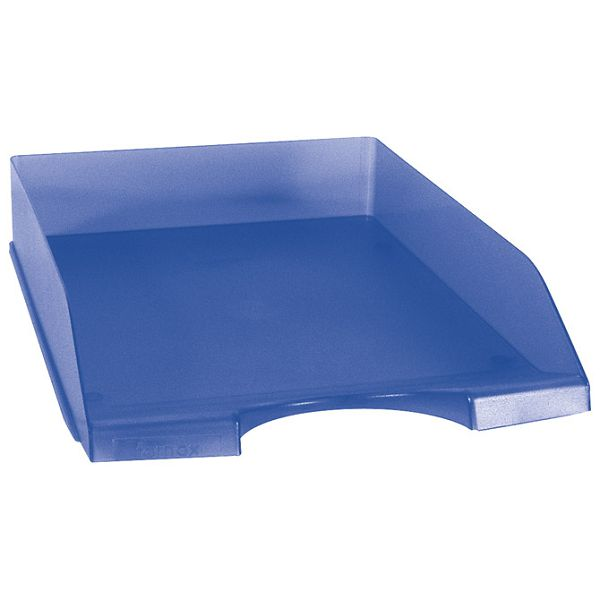 Ladica za spise FORoffice prozirno plava