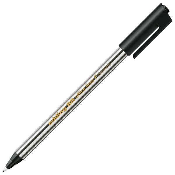 Flomaster liner uredski F 0,6mm Edding 88 crni