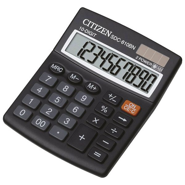 Kalkulator komercijalni 10mjesta Citizen SDC-810BN blister