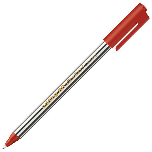 Flomaster liner uredski F 0,6mm Edding 88 crveni