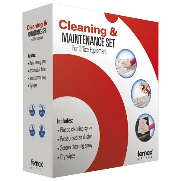 Sredstvo za čišćenje komplet 3+1 Fornax