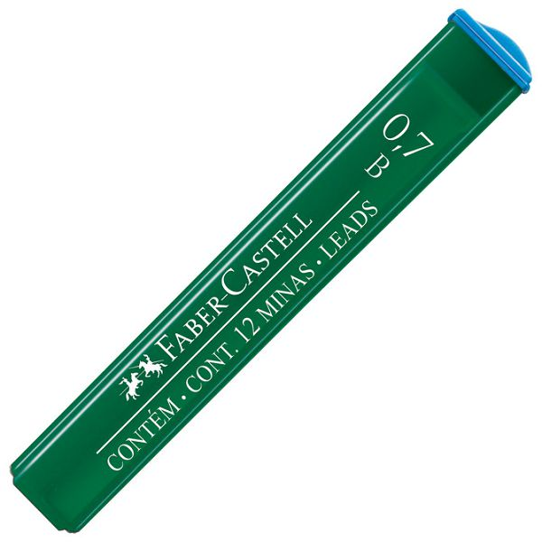 Mine 0,7mm B polymer 1tuba Faber Castell 9127