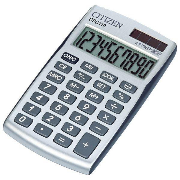 Kalkulator komercijalni 10mjesta Citizen CPC-110 blister!!