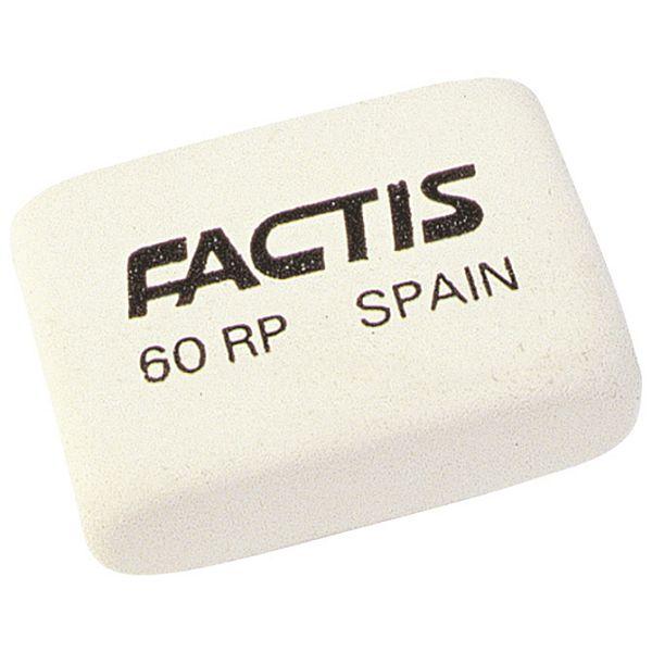 Gumica kaučuk 60RC/RP Factis bijela-KOMAD
