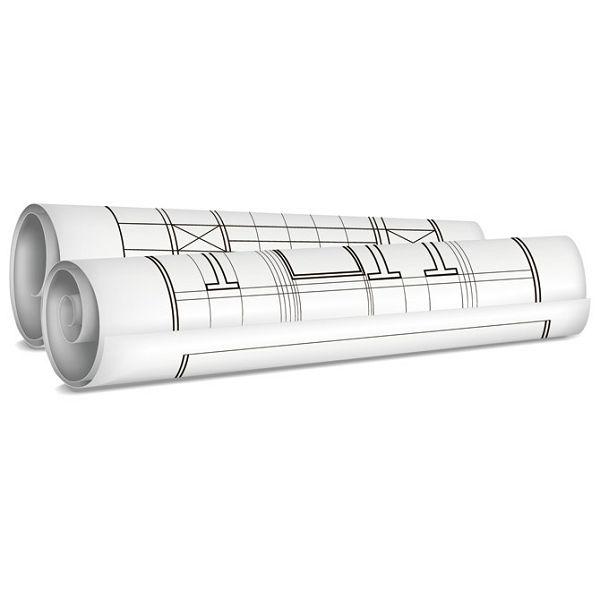 Tuba za nacrte fi- 6,3/duljina  60cm Giudicarie