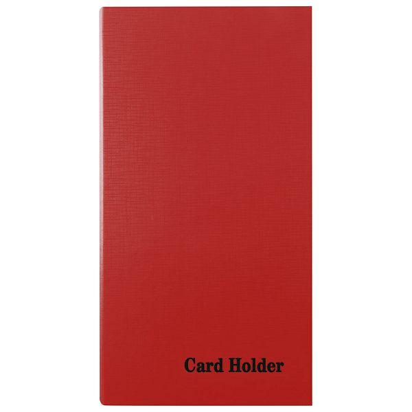 Album za vizitke 4Dringa 210 kartica +ABC pp Donau 1331001PL-04 crveni