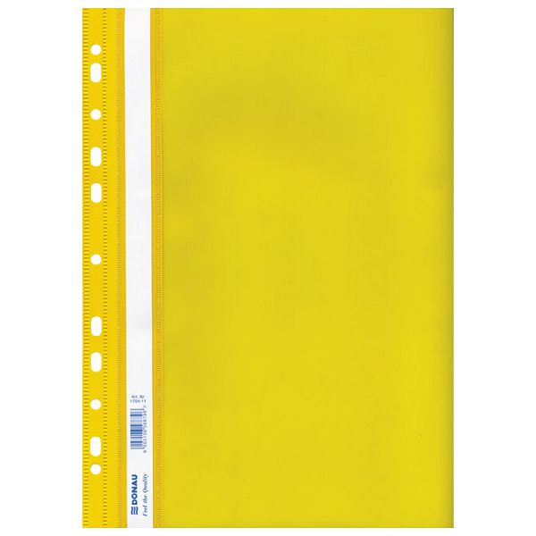 Fascikl mehanika euro pp A4 uložni Donau 1704001PL-11 žuti