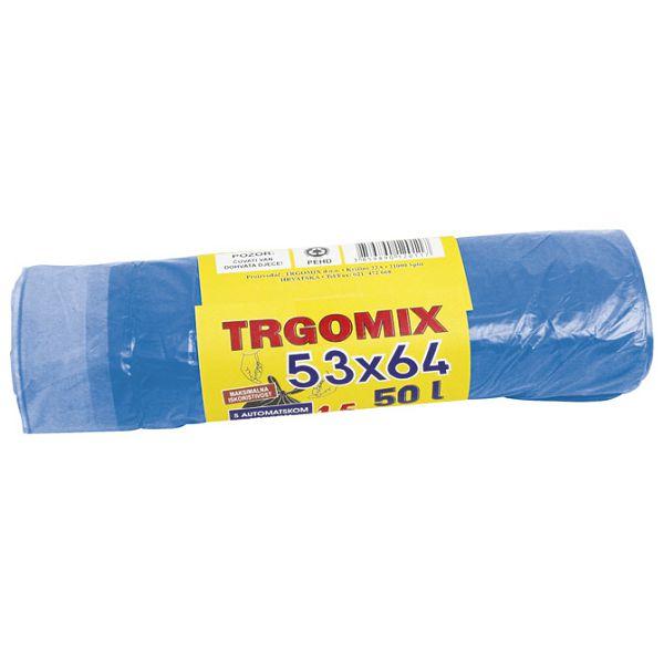Vreća za smeće 53x64cm(vrpca) HD pk15 Trgomix