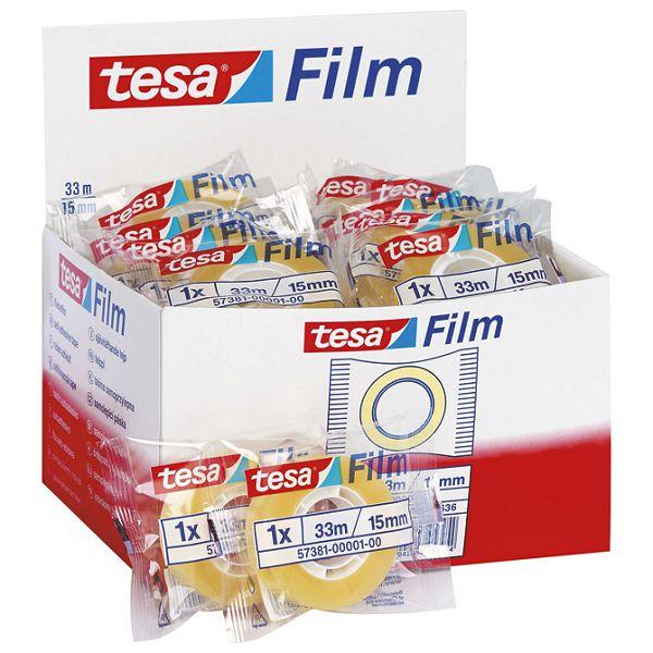 Traka ljepljiva 15mm/33m Tesafilm Tesa 57381 prozirna