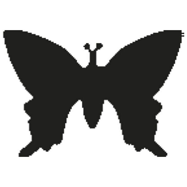 Bušač 1 rupa veća-leptir Heyda 20-36875 23 blister