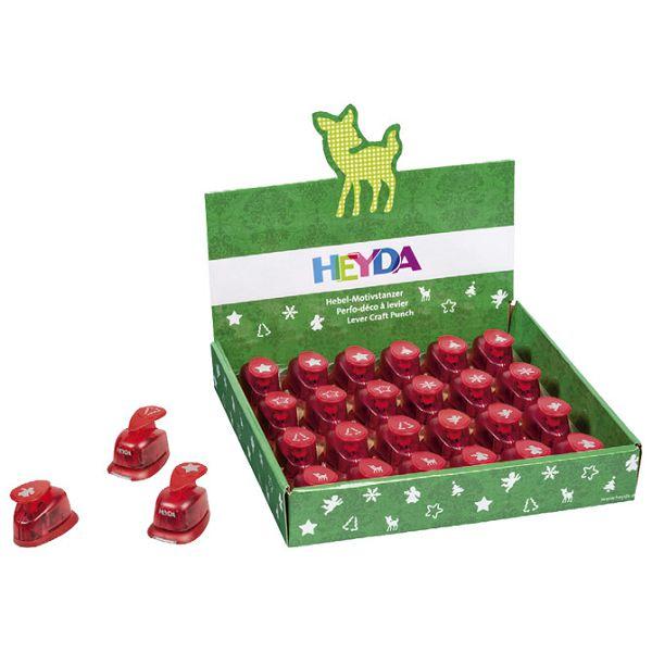 Bušač 1 rupa mala-novogodišnji Heyda 20-36876 91