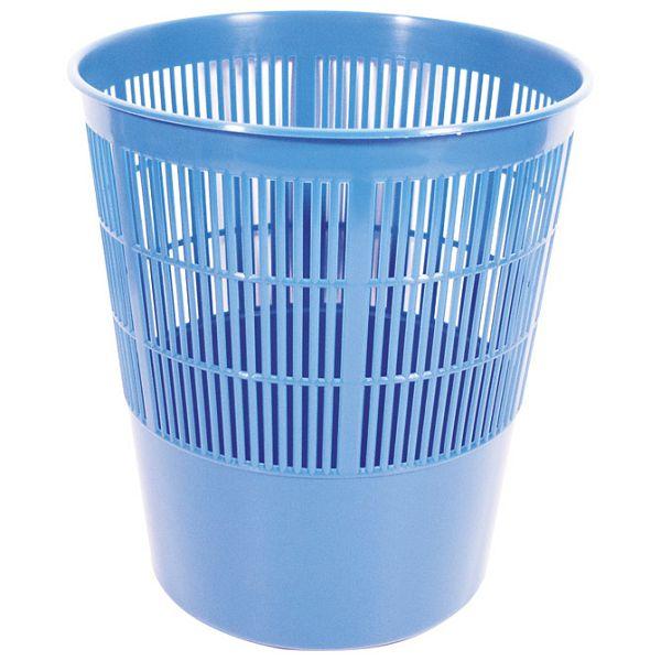 Koš za smeće pp 17L rešetkasti Moplen Giudicarie plavi