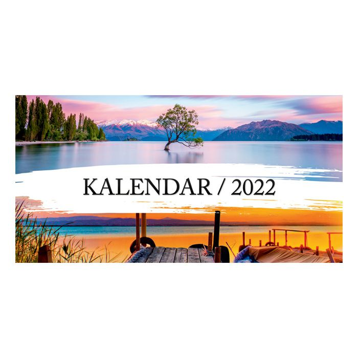 Kalendar stolni mali 2019. 13 listova, obostrani, spirala!!