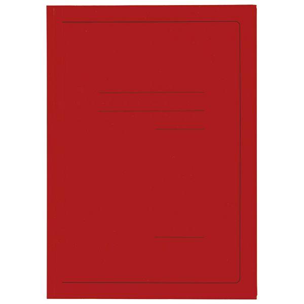 Fascikl klapa karton lak A4 215g Vip Fornax crveni