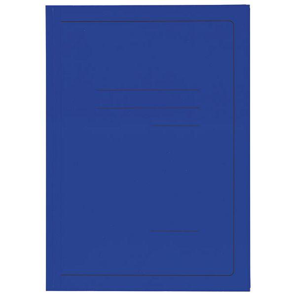 Fascikl klapa karton lak A4 215g Vip Fornax plavi