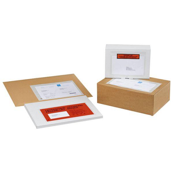 Etui-omotni samoljepljivi za dokumente 240x135mm pk100 Fornax