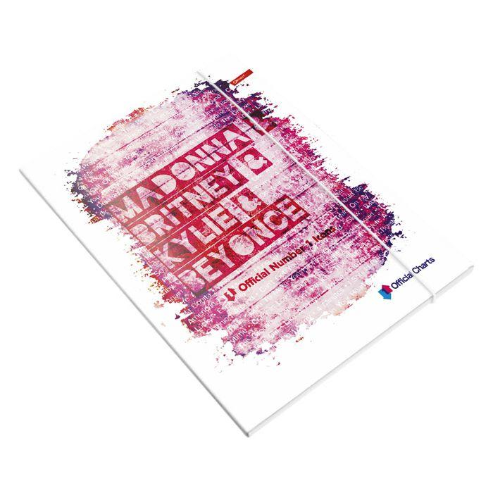 Fascikl klapa s gumicom A4 mat+lak Official Charts Connect sortirano!!