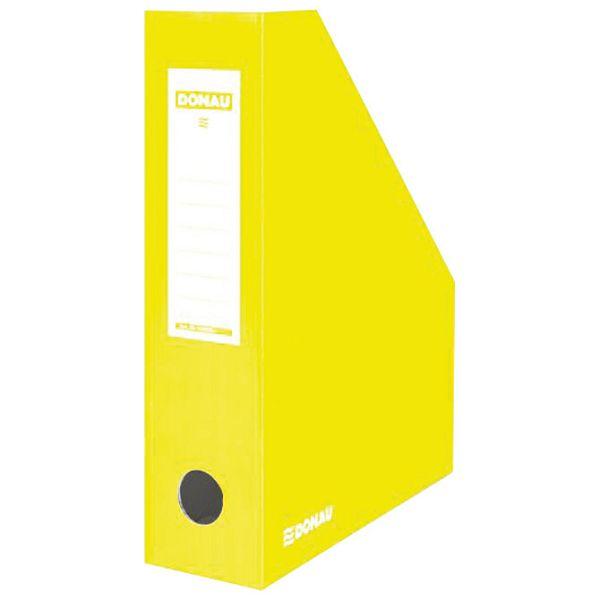 Stalak za spise okomit kartonski lakirani Donau 7649201PL-11 žuti
