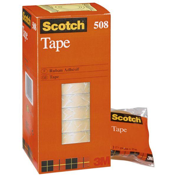 Traka ljepljiva 19mm/33m  Scotch 508 3M.prozirna