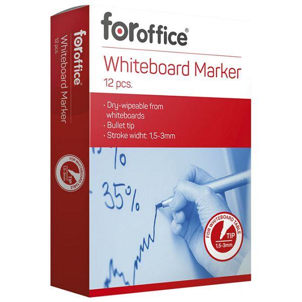 Marker za bijelu ploču FORoffice plavi