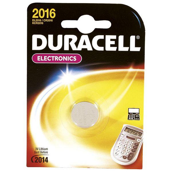 Baterija litij dugmasta 3V Duracell 2016 blister