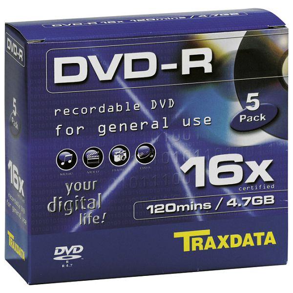 DVD-R 4,7/120 16x JC Traxdata 0231733