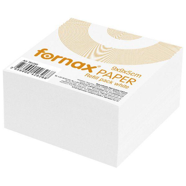 Papir za kocku 9x9x5cm Fornax bijeli