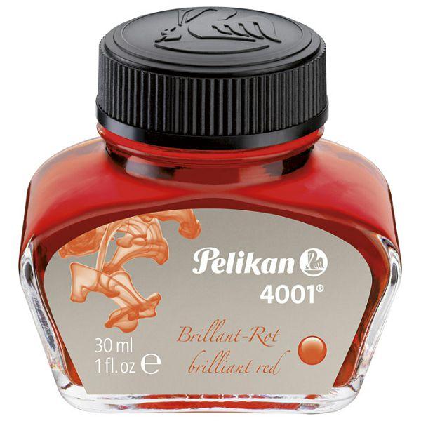 Tinta za nalivpero bočica 30ml 4001 Pelikan 301036 crvena